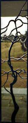 Beveled Stained Glass Grape Vines - Virginia ©Cain Art Glass 2016, All Rights Reserved
