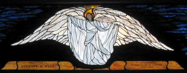 Stained Glass Angel Tiffany Style ©Cain Art Glass 2016, All Rights Reserved
