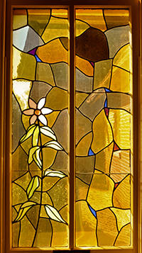 Amelia Presbyterian Church Stained Glass Detail ©Cain Art Glass 2016, All Rights Reserved