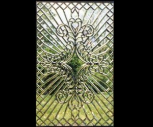 Intricate Beveled Glass Window