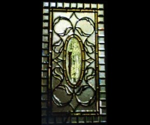 Traditional Beveled and Stained Glass Window