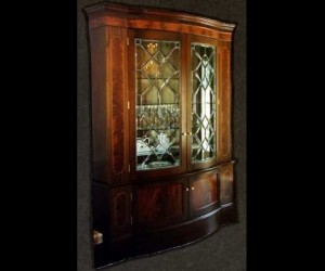Traditional Beveled Glass Furniture 01
