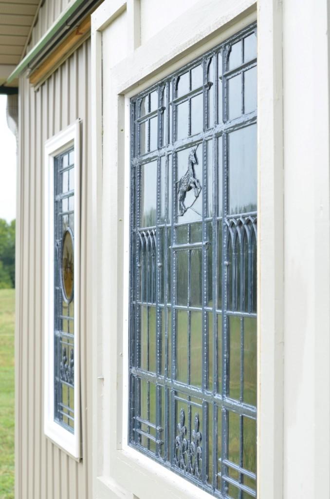 Contemporary Stained Glass Barn Windows - Richmond Virginia - Cain Art Glass (2)