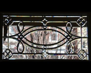 Beveled Glass Window Transom - Historical Richmond Virginia - Cain Art Glass (4)