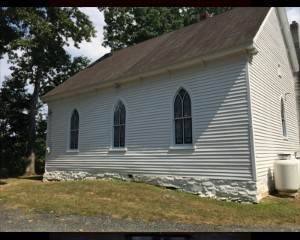 Stained Glass Window Restoration Country Church