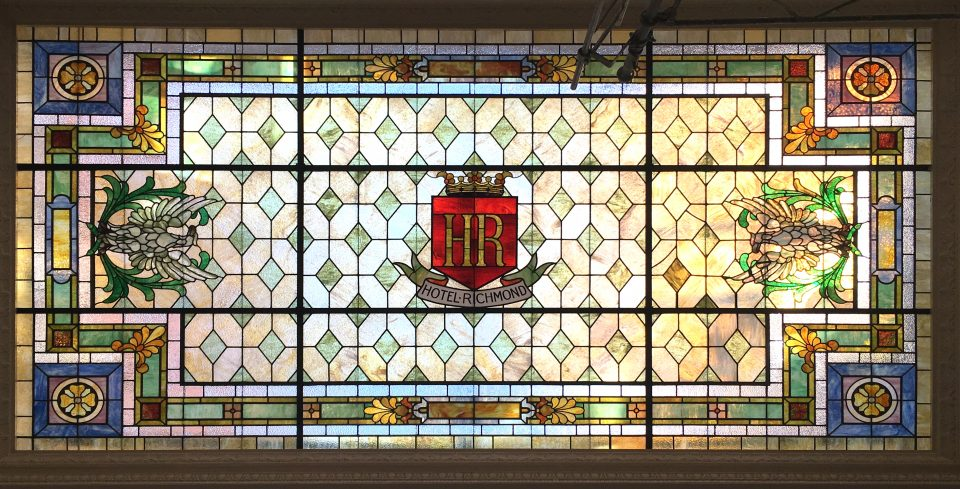 Hotel Richmond Stained Glass Restoration - Cain INC (3)