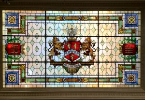 Hotel Richmond Stained Glass Restoration - ©Cain INC