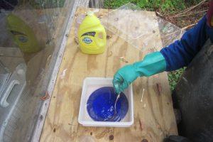 Acid Etching Wayne Cain Art Glass