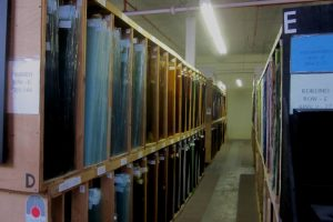 Cain Inc. Stained Glass Lamberts Kokomo Glass Manufacturer Warehouse