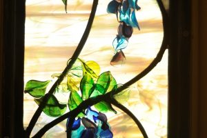 Cain Inc. Wayne Cain Flameworking Lampworking Glass Leaves Wisteria Glass Petals
