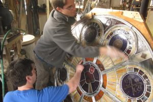Cain Inc. Wayne Cain St Thomas Stained Glass Window Cleaning Flux and Solder