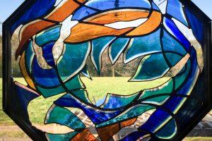 CainInc-47 Wayne Cain Art Glass Colored Glass