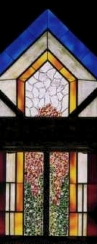 Elk Hill Farm Virginia Contemporary Chapel Stained Glass 02