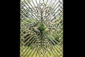 Intricate Beveled Glass Window