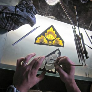 painting stained glass art glass daniel white 2