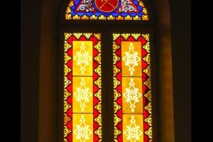 Stained Glass Catholic Chapel Restoration Washington DC