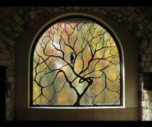 Wayne Cain 187 Contemporary Stained Glass