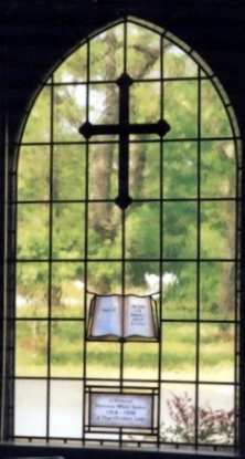 Presbyterian Church Leaded Glass Windows ©Cain Art Glass 2016, All Rights Reserved