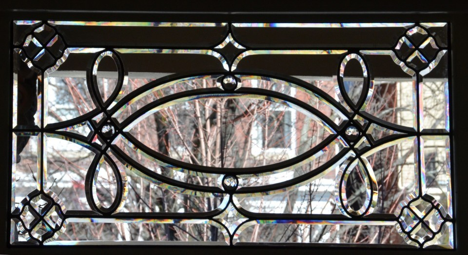 Beveled Glass Window - Richmond VA - Cain Art Glass (1)