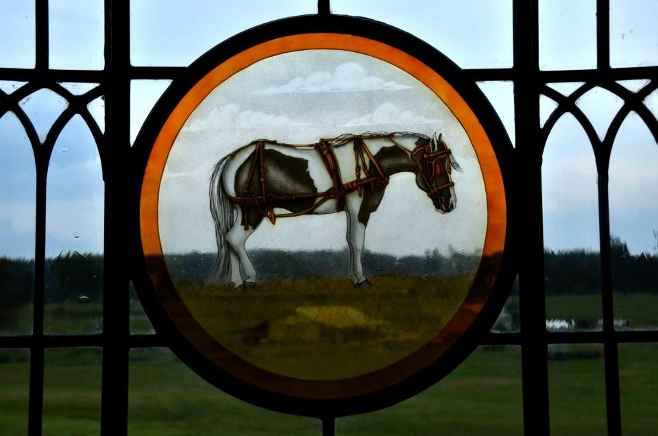 Contemporary Stained Glass Barn Windows - Richmond Virginia - Cain Art Glass (6)