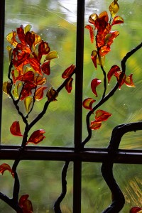 Stained Glass Tree Branch ©Cain Art Glass 2016, All Rights Reserved