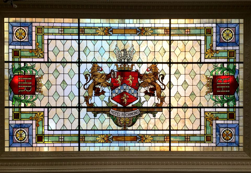 Hotel Richmond Stained Glass Restoration - Cain INC (5)