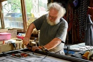 Assembling Stained Glass - ©Cain INC