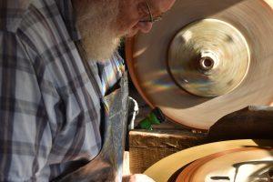 Cain Inc Wayne Cain Art Glass Henry Lang Beveled