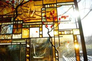 Cain Inc. Contemporary Art Glass Beveled Glass Jewels Stained Glass Flameworking Custom Bevels 2