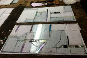 Cain Inc. Custom Bevels Beveled Glass Contemporary Stained Glass Furniture Glass Wayne Cain Jewels Custom Cabinetery Design Ideas