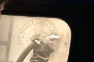 Cain Inc. Fork Union Military Academy Carved Glass Sandblasted Glass Vinyl Cutting Daniel White Sandblasting