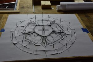 Cain Inc. Glass Patterns Cut Stained Glass Art Glass Drawing