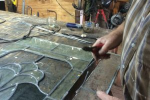Cain Inc. Restoration Stained Glass Broken Rotted Lead came replace stained glass