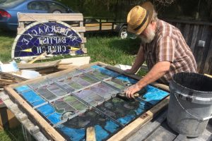 Cain Inc. Restoring Stained Glass Window Putty Wayne