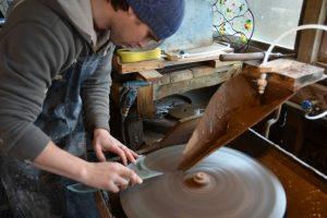 Cain Inc. Stained Glass Art Glass Beveled Glass Beveling Custom Daniel White Henry Lang