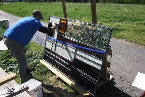 Cain Inc. Stained Glass Restoration Elk Hill