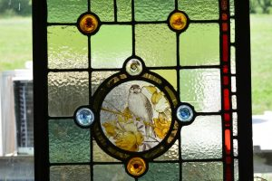 Cain Inc. Stained Glass Restoration Replaced Broken Glass Stabilized Lead
