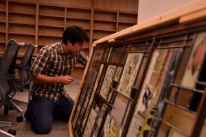 Cain Inc. Wayne Cain Daniel White Billy Ireland Museum Library Installation of Art Glass