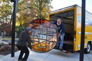 Cain Inc. Wayne Cain Daniel White Contemporary Art Glass Transporting