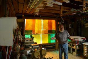 Cain Inc. Wayne Cain Explaing Color Selections LMBERTS gLASS