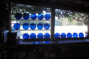 Cain Inc. Wayne Cain Lamberts Glass Planning Color Selection Blue