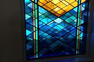 Cain Inc. Wayne Cain Stained Glass Art Glass Leaded Glass Grace and Glory