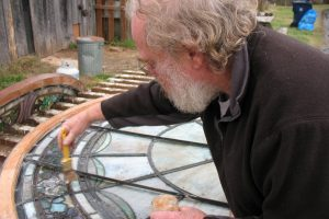 Cain Inc. Wayne Cain Stained Glass Art Glass Restoration