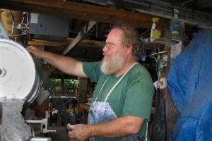 CainInc-234 Wayne Cain Art Glass Beveled Henry Lang
