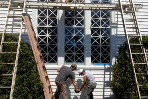 Stained Glass Protective Coverings Virginia