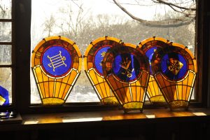 Wayne Cain Inc. Stained Glass Painted Glass Daniel White