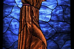 Grace Episcopal Church Stained Glass Window St Francis 06