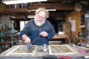 Metal Sculpting Cain Art Glass Studio