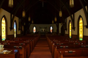 Religious Church Stained Glass Window Restoration Chatham Virginia 04